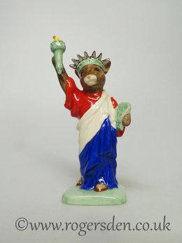 Bunnykins Statue of Liberty DB  198