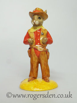 Cowboy Bunnykins  DB  201 Out of Stock