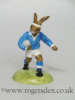 Rugby Player Bunnykins DB  318