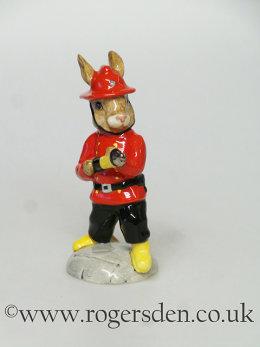Fireman Bunnykins DB  183