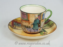Dickens Ware Series Ware Cup & Saucer