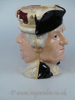 George III George Washington  D 6749