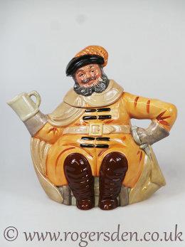 Character Teapot Falstaff