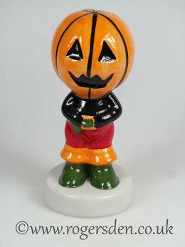 Pumpkin Head Figure