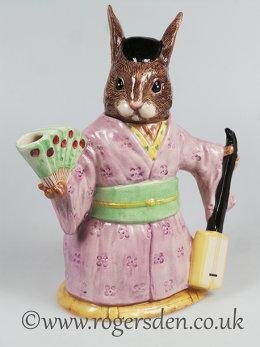 Bunnykins Teapot Japanese Geisha Girl - D7126 Out of Stock
