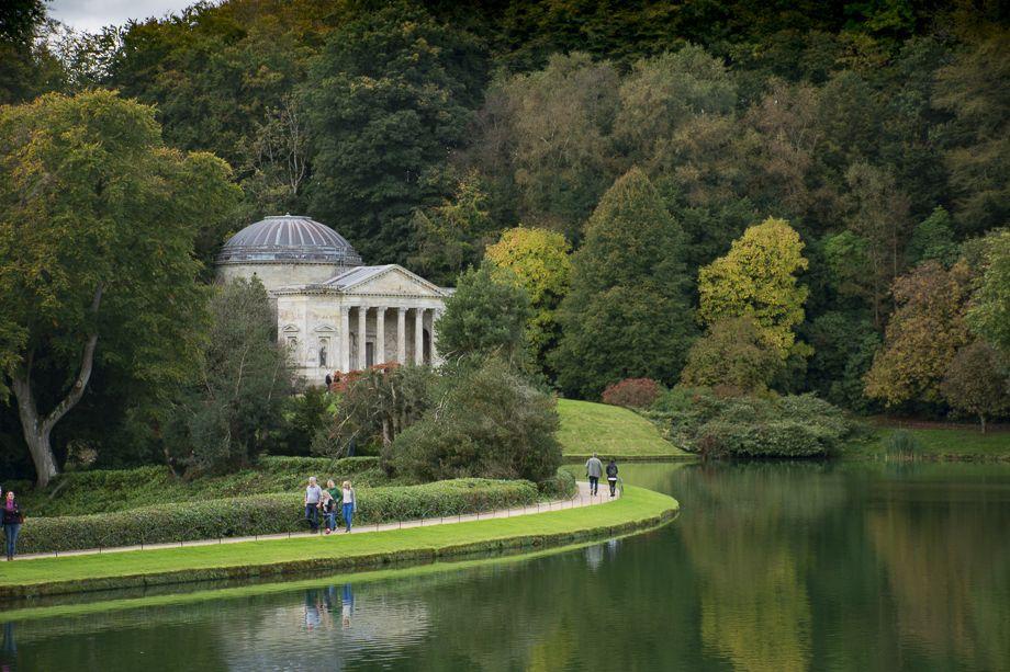 The Pantheon & Lake