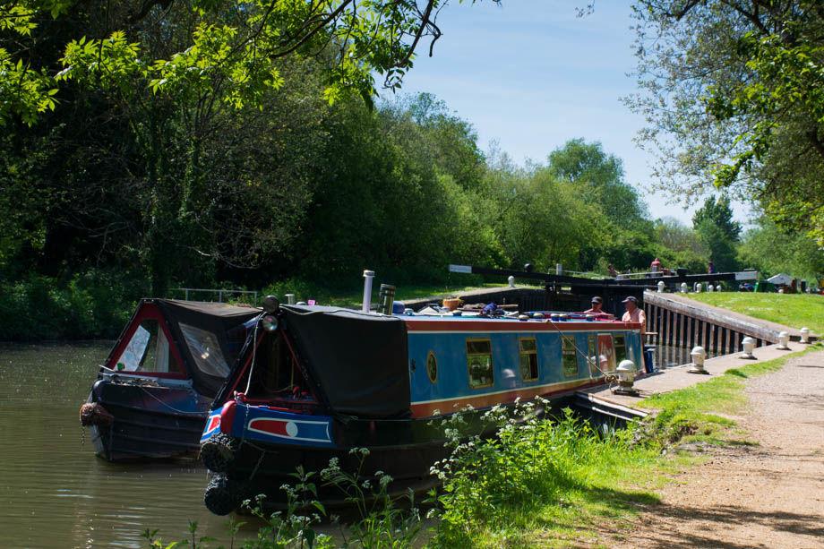 Kennet & Avon Canal near Aldermaston Wharf
