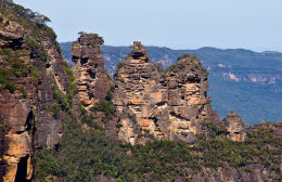The Three Sisters. Blue Mountains. Australia.