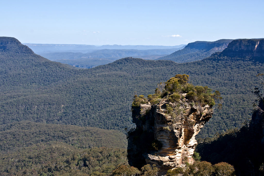 Across The Blue Mountains