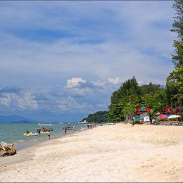 Batu Ferringhi Beach Malaysia.
