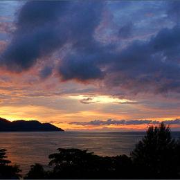 Batu Ferringhi Sunset Malaysia.