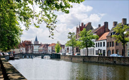 Bruges from Potterierei
