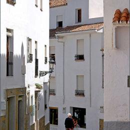 Casares Street Spain.