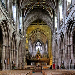 Chester Cathedral - The Nave