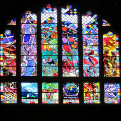 Millennium Window - Chester Cathedral