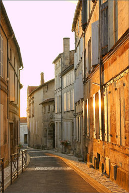 Cognac Sunset France