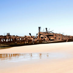 The Wreck Of The S. S. Maheno.