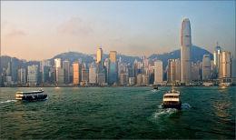 Early Morning Ferries Hong Kong