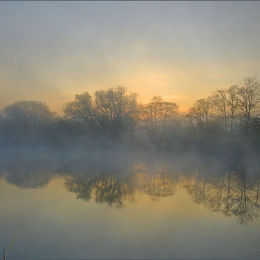 Easter Sunday Dawn. River Dee.