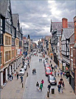 Foregate Street Chester.