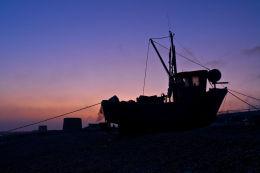 Hythe Beach Sunset