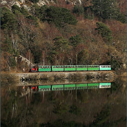 Llanberis Lake Railway. North Wales.