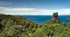 North Across Lake Taupo