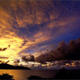 Penang Sunset Malaysia.