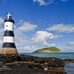 Penmon Lighthouse. Anglesey.