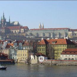 River Vitava Prague