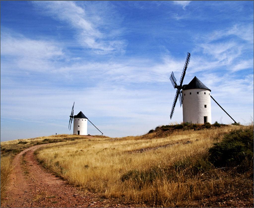 Windmill's Of La Mancha.