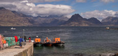 The Cuillins from Elgol on Skye