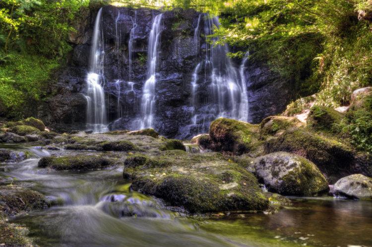 The Horseshoe waterfall