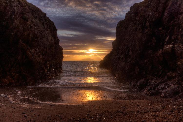 Jones' Port Sunset