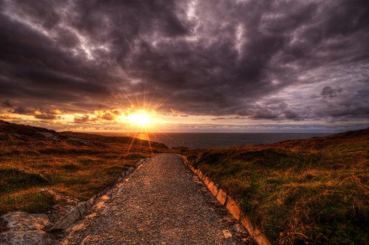 Altnadarrow Sunset
