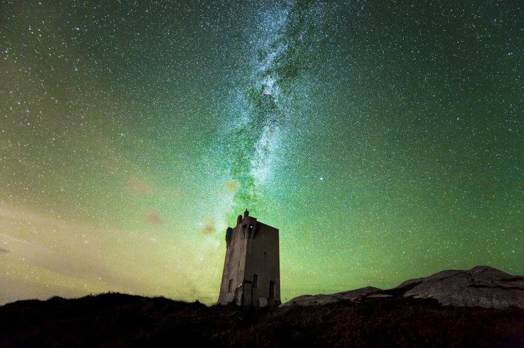Milky Way & the 'Tower'