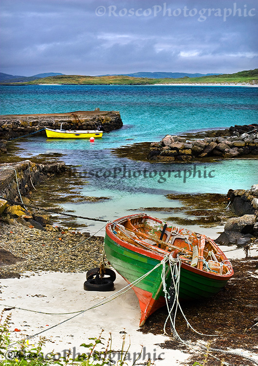 Eoligarry Boats, Isle of Barra