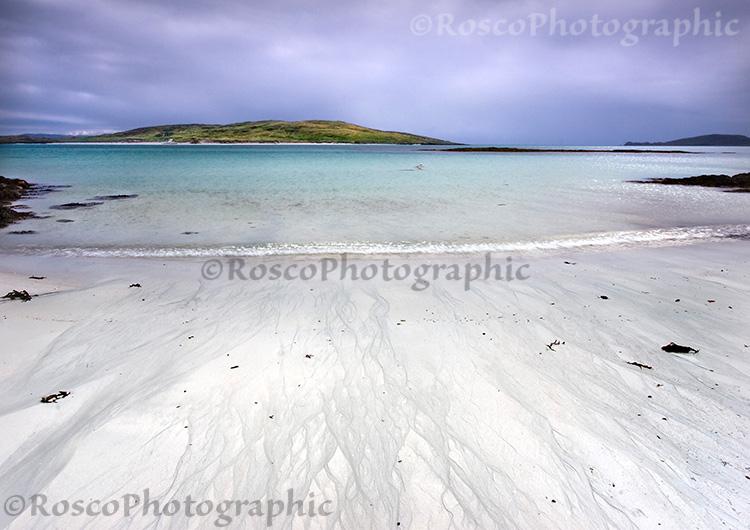 Isle of Fuday from Isle of Barra