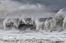 A Winter tide, Sea Palling
