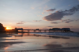 Sunset Cromer Pier, Norfolk