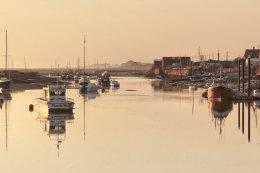 Sunrise East Quay Wells-next-Sea, Norfolk