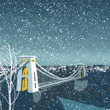 BRISTOL SUSPENSION BRIDGE IN THE SNOW RM046