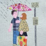 Bus Stop (The Hollies) Textile