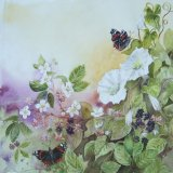 Butterflies and Brambles (Sold)