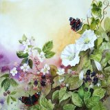 Butterflies and Brambles (card & print)