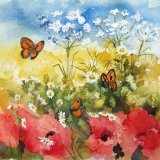 Butterflly and Flora1 (Sold)