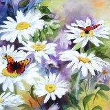 Daisies & Butterflies (Sold)