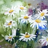 Daisies and Bees (Sold)