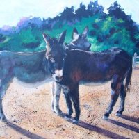 Donkey Friends (sold)