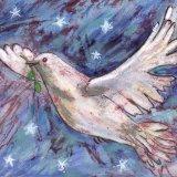Dove and stars